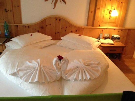 Garni-Hotel Bel Vert : LA NOSTRA CAMERA !