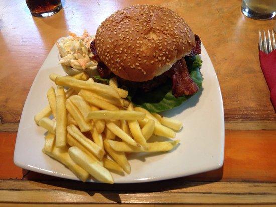 The Anchor Inn: Anchor burger