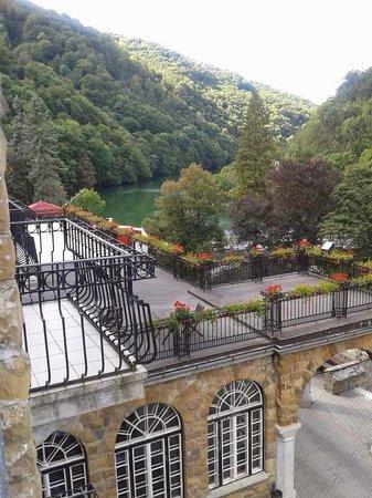 Hunguest Hotel Palota: Lake view