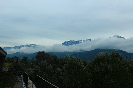 Park & Suites Grenoble Meylan: Vista da Varanda