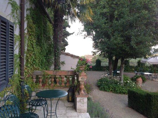 Villa Bordoni: View from the Terrace