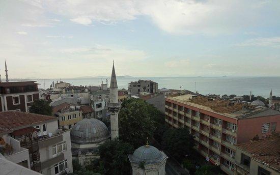 Hotel Mina : 屋上レストランからの眺め