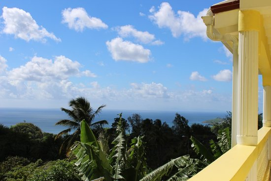 Shortstay Facility St. Lucia: View from the apartment