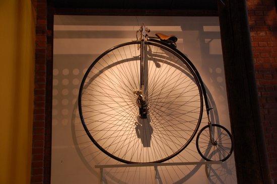 Norwegian Museum of Technology: bici d'epoca