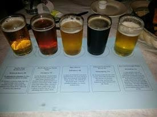 Food For Thought: Love those local brewery flights!