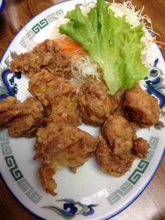 Karaage- fried chicken