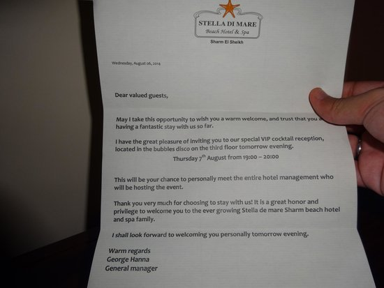 congratulations letter from general manager   picture of