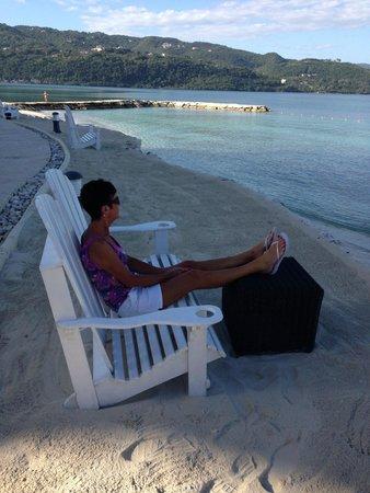 Secrets St. James Montego Bay: Admiring the view