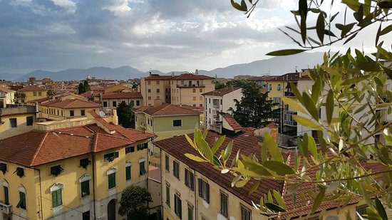 B&B Dei Cavalieri: vue depuis le balcon commun