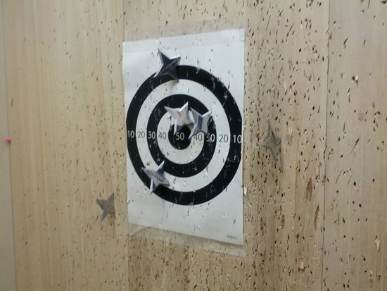 Model Gun Shop Chitose Hamamatsu - Shuriken Throwing Experience
