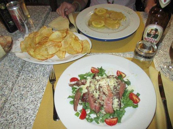 Trattoria La Gratella: patatine fritte fatte in casa che sono la fine del mondo!