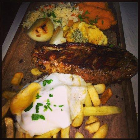 Las Cholas: Great sharing platter
