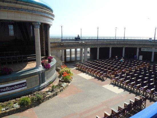 Eastbourne Bandstand: Band stand with seating