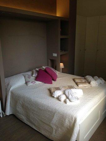 chambre alcove deco terasse exterieure - Photo de B&B Mondello ...
