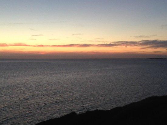 Duck Inn: sunset