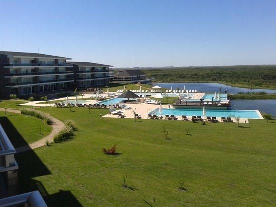 Altos Del Arapey Club De Golf y Hotel Termal: Vista de la habitacion