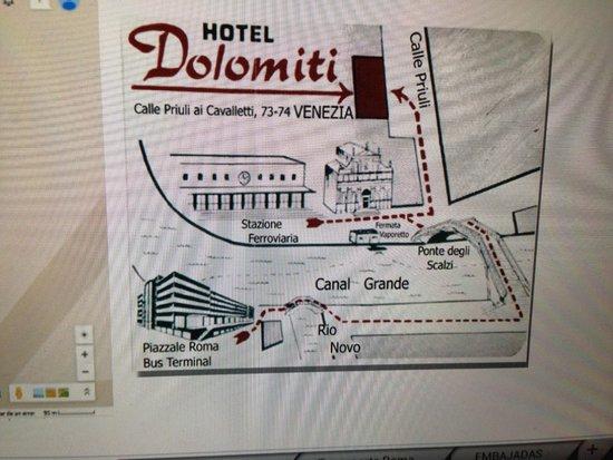 Dolomiti Hotel: Plano Hotel