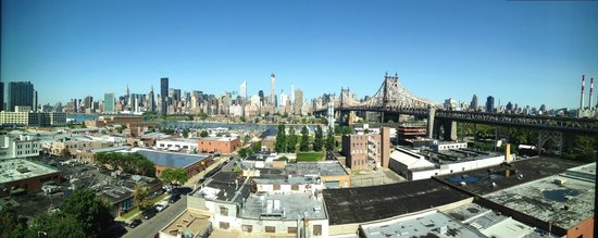 Z NYC Hotel : Panoramic from the roof