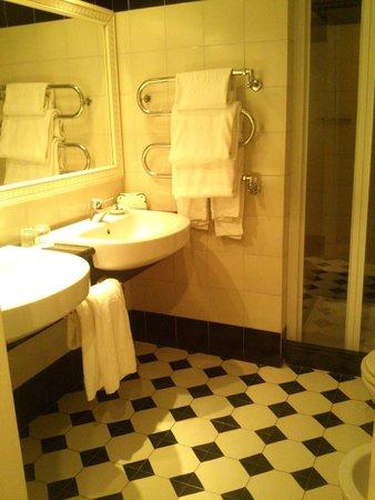 Hotel Victoria : bagno scic e funzionale