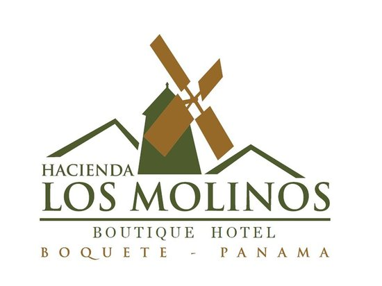 Logo foto van hacienda los molinos boutique hotel for Boutique hotel logo