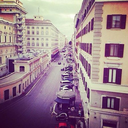 Boscolo Exedra Roma, Autograph Collection : The view from my room