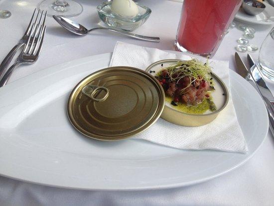 Spoon Cafe & Lounge : Artichoke panna cotta