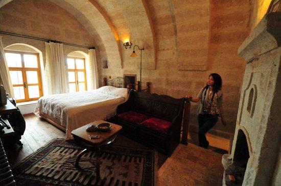 Kelebek Special Cave Hotel: the duplex room