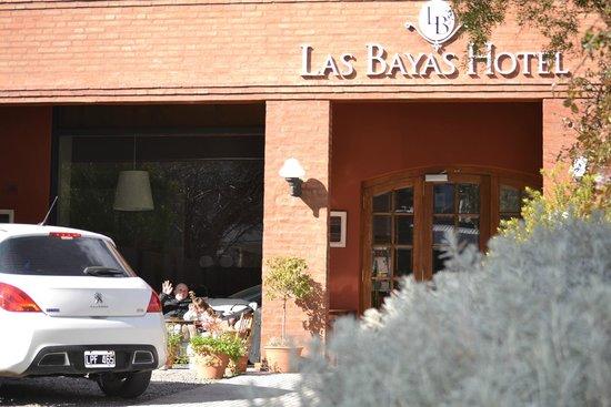 Las Bayas Hotel : Fachada