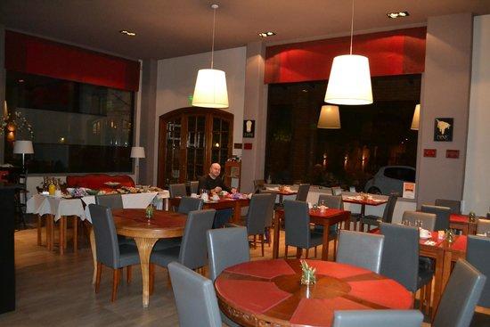 Las Bayas Hotel: Cenando con papá Eslavo