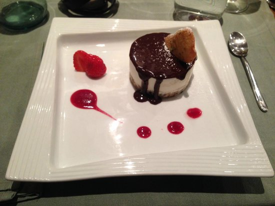 Badalamenti Cucina e Bottega : dessert chessecake chocolat