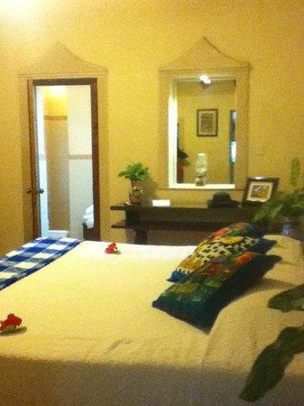 Hacienda Chichen: our room at Morley Cottage