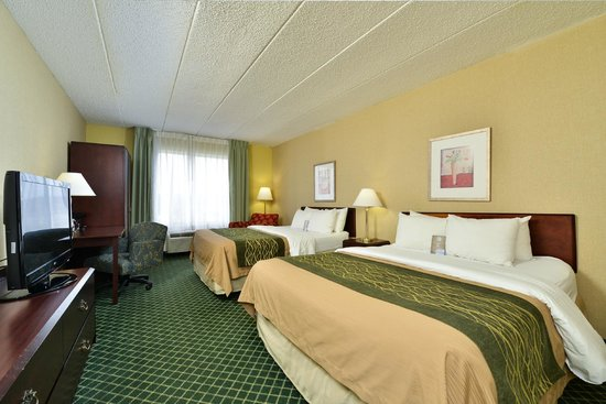 Comfort Inn Capital Beltway : Queen Room