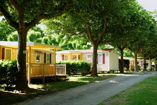 Camping Chauvieux: mobil home