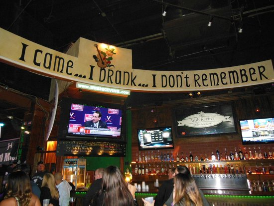 Irish Kevin's Bar: good times!