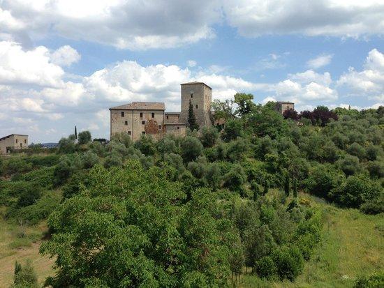 Relais Borgo di Stigliano: Vue de la chambre