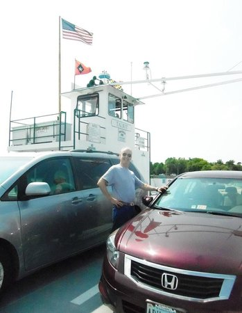 Oxford-Bellevue Ferry: Crossing the Tred Avon