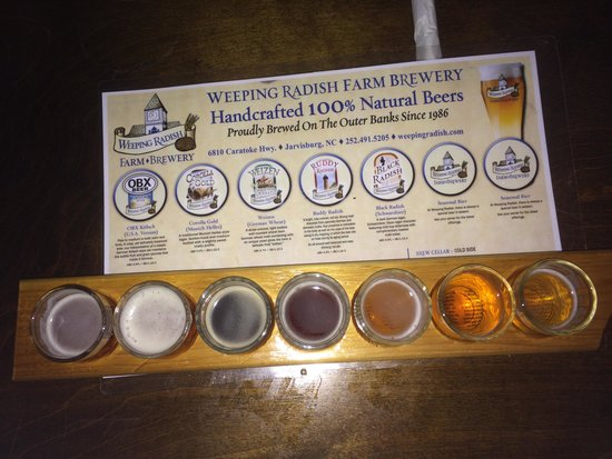 Weeping Radish : beer sampler