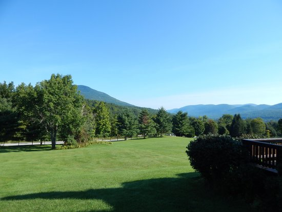 Manchester View: Morning in Vermont.