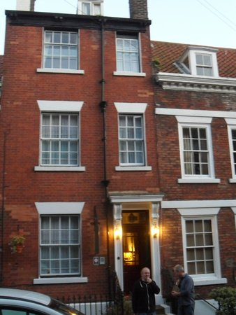 Tall Storeys Guest House: From the front