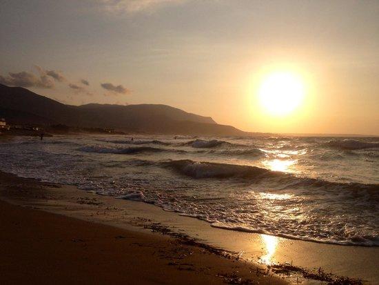 Dessole Malia Beach Hotel : Закат на северном побережье