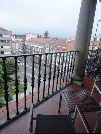 Hotel Compostela: Santiago desde nuestro balcón