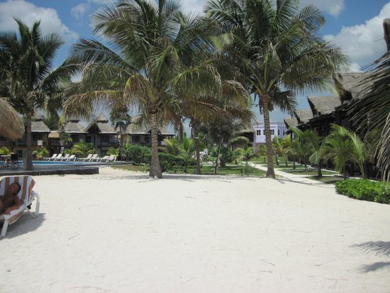 PavoReal Beach Resort Tulum: Il parco del resort