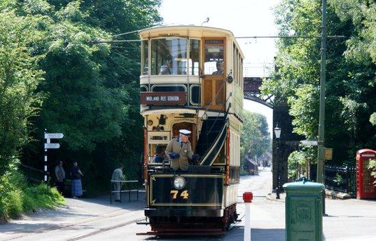 Crich Tramway Village: Tram rides at Crich