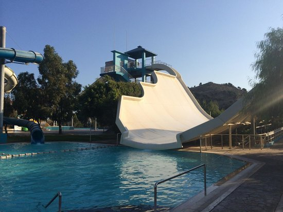 WaterPark: Great slide!