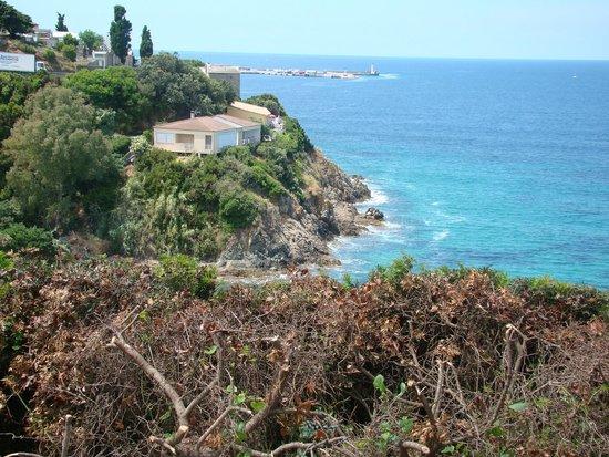 BEST WESTERN Hotel Alcyon : Vista do mar perto do hotel