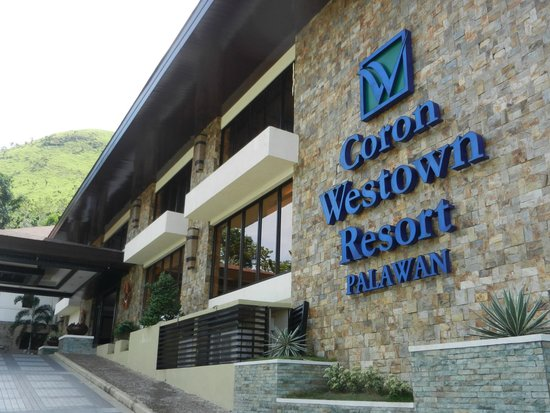 Coron Westown Resort : Your first view of the hotel