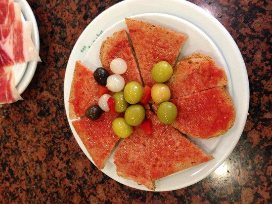Restaurante Bar Andaluz: Excellent, saveurs toute méditerranéenne