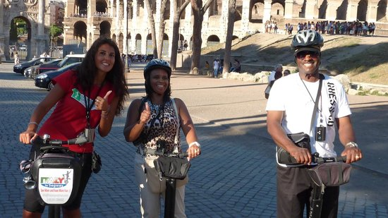 Italy Segway Tours: Makes everyone feel comfortable