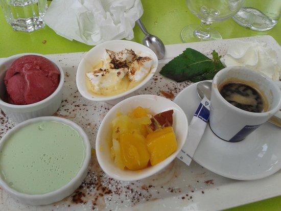 Le Palatino: Café gourmand