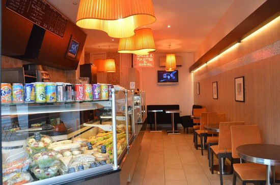 La Mie Cale : Cafe View